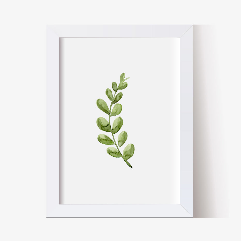 Leafy Greenery Single Print - Hillary Proctor Studio