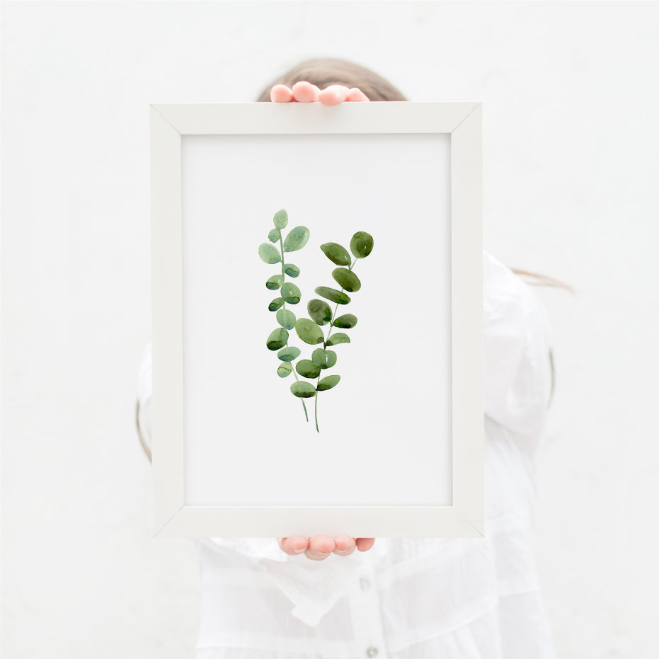 Eucalyptus Greenery Single Print - Hillary Proctor Studio