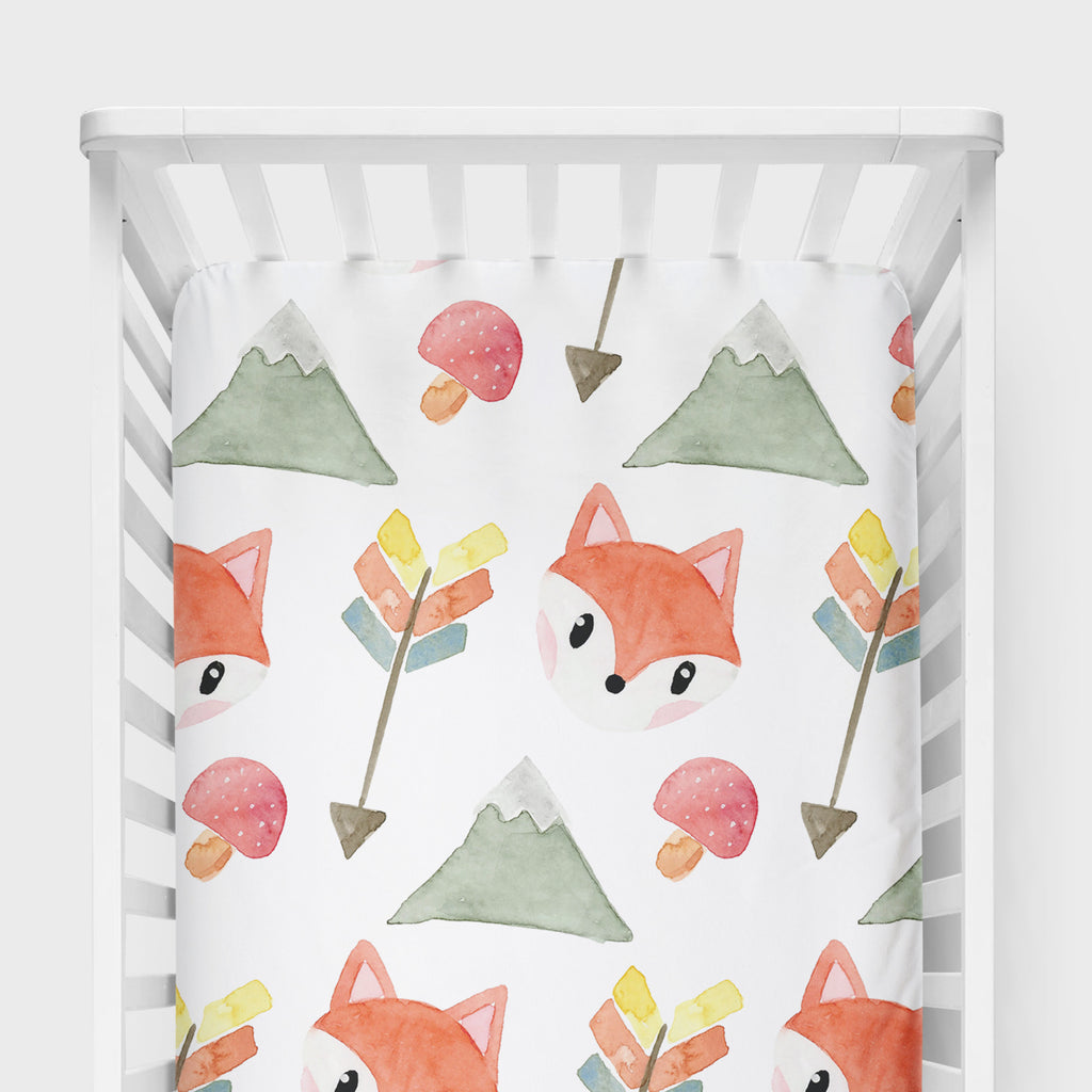 Fox Crib Sheet - Hillary Proctor Studio