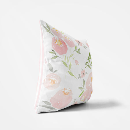 Pink Floral Pillow - Hillary Proctor Studio