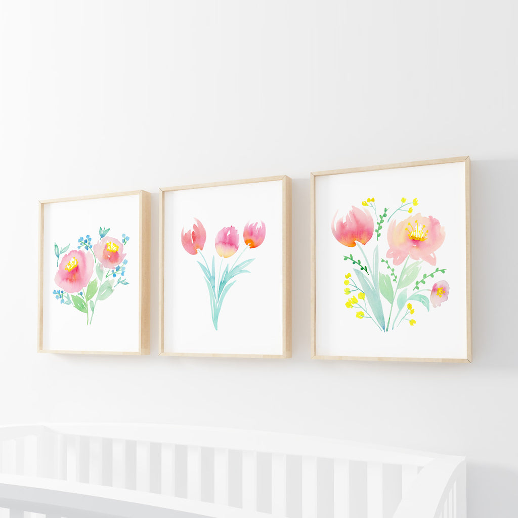 Rainbow Nursery Print Collection - Hillary Proctor Studio