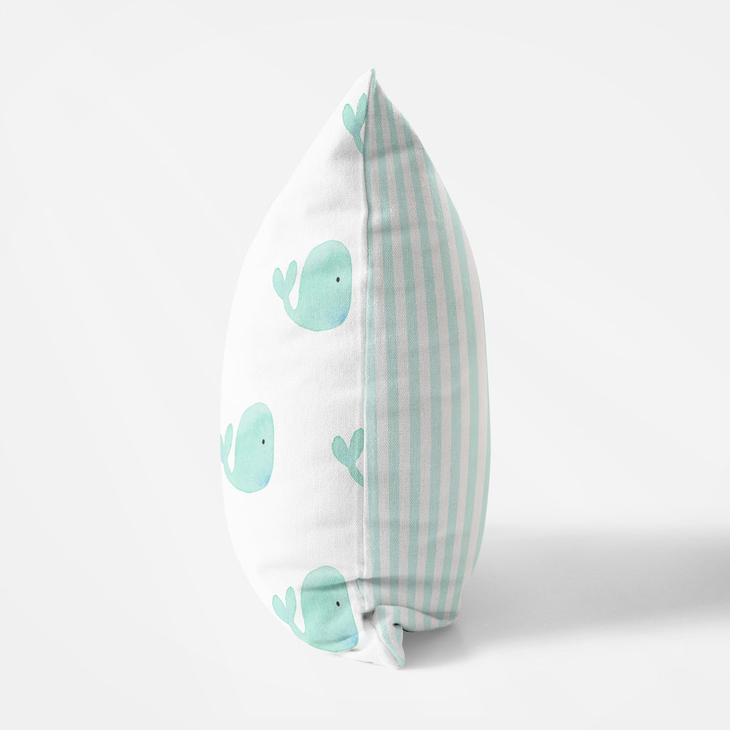 Whale Pillow - Hillary Proctor Studio