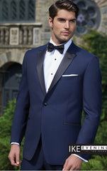 LOCATION - Ike Behar BLAKE Tuxedo Bleu Indigo