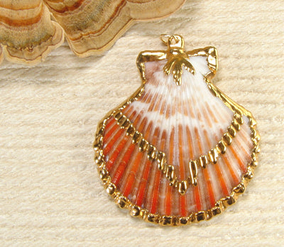 Scallop Shell Pendant