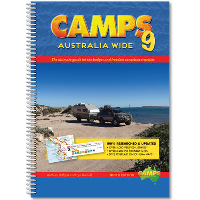New Camps 9 Spiral Bound (A4) soft cover incl Free Shipping