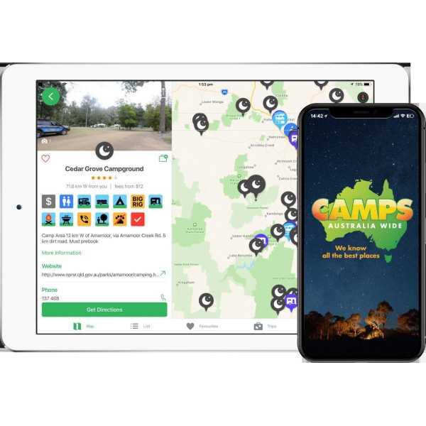 Image result for Icon Touch camping app