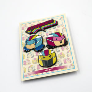 Starbomb - 4 Piece Pin Set - Starbomb Cuties!