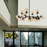 Aurora 16 Light Branching Sphere Cluster Pendant by Amond