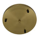 3 Light Bronze Round Plate