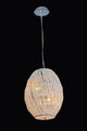 Chelsea 4 Light Crystal Strand Basket Pendant