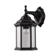 Doveton Bronze Two-colour Downward Coach Wall Lantern by Amond