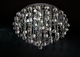 Gianna 700mm Crystal Ball Hub Ceiling Fxiture by Amond