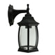 Kent Black Exterior Coach Light by Amond