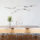 Marc 6 Light Open Cross-bar Designer Pendant by Amond