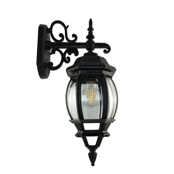 Melville Black/Bronze Exterior Coach Light