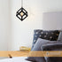 Ruben Geometrical Cube Pendant by Amond