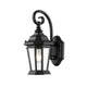 Telford Bronze Two-colour Victorian Curl Hanging Coach Lantern Exterior by Amond