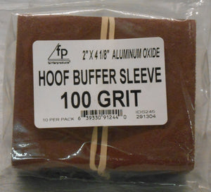 Hoof Buffer Sleeves
