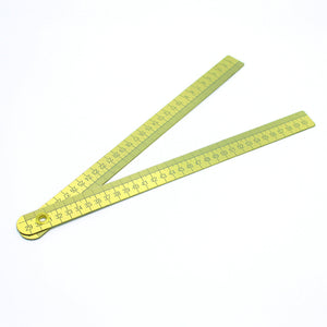 FP Brass Ruler