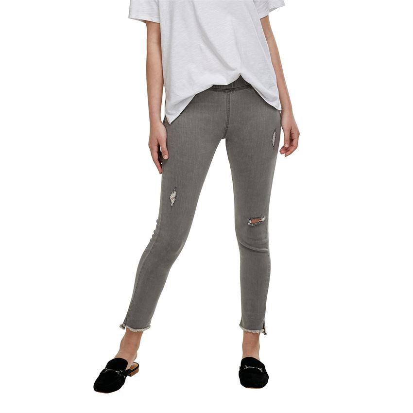 Mud Pie Women's Max Denim Leggings Gray