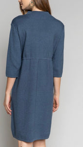 Blue Sky Sweater Dress