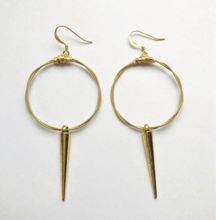 Hoop and Dagger Earrings