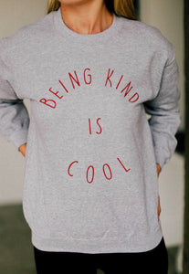 Being Kind Is Cool Sweater