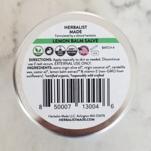 Load image into Gallery viewer, Lemon Balm Salve