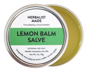 Lemon Balm Salve