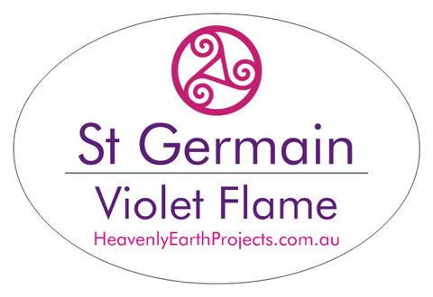 ST GERMAIN - VIOLET FLAME holistic spray 100 ml