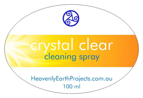 CRYSTAL CLEAR EXPRESS clean-up spray