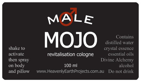 MALE MOJO revitalisation cologne 100 ml