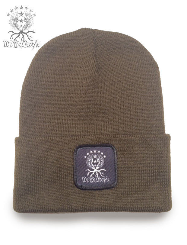 We the People Beanie | Olive Drab