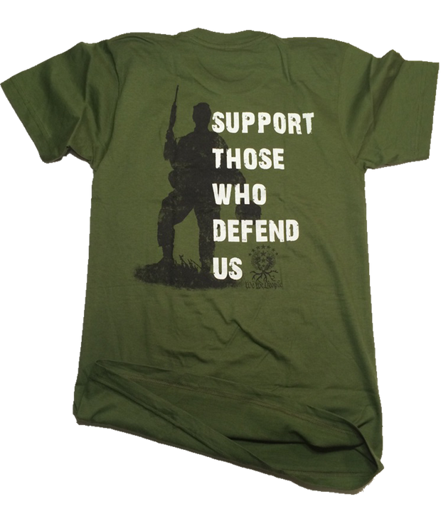 Support Those Who Defend Us | Olive Drab