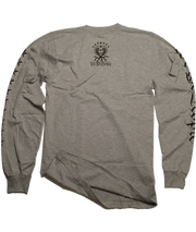 The 2nd Protects The 1st Long Sleeve Tee | Grey