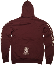 The 2nd Protects The 1st Hoodie | Maroon