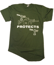 The 2nd Protects The 1st | Olive Drab