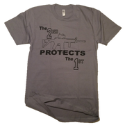 The 2nd Protects The 1st | Slate Grey