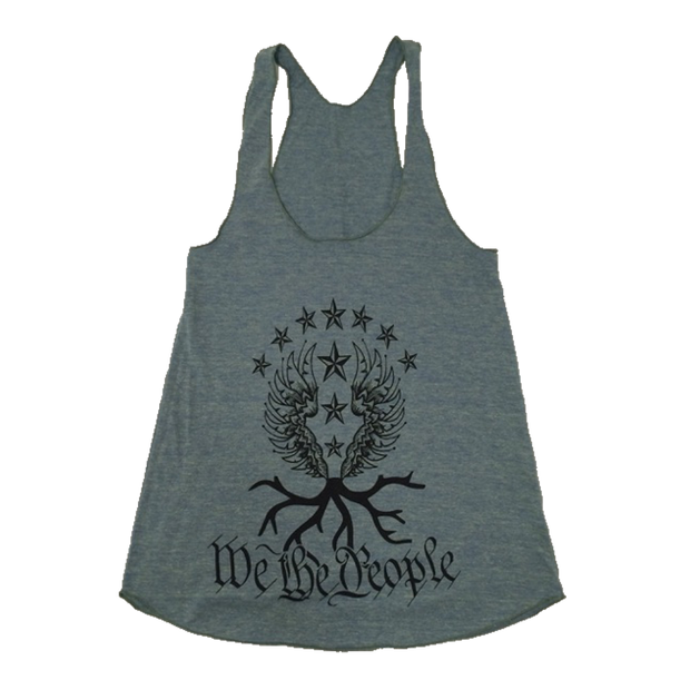 We the People Racerback Tank | Tri-Lemon