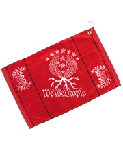 We the People Woven Towel