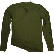 We the People Long Sleeve Tee | Army Green