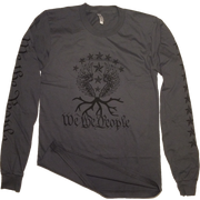 We the People Long Sleeve Tee | Asphalt