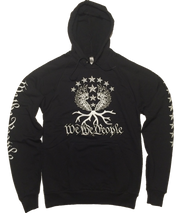 We the People Liberty Tree Hoodie | Black& White