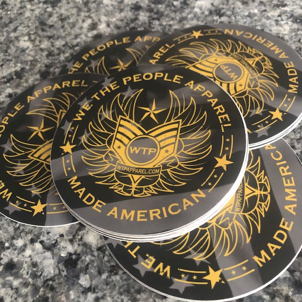 We the People Apparel Sticker