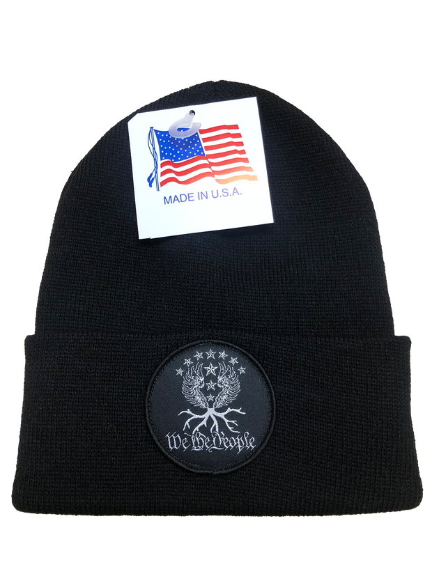 We the People Beanie | Black