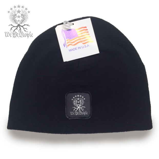 We the People Non-Cuff Beanie | Black