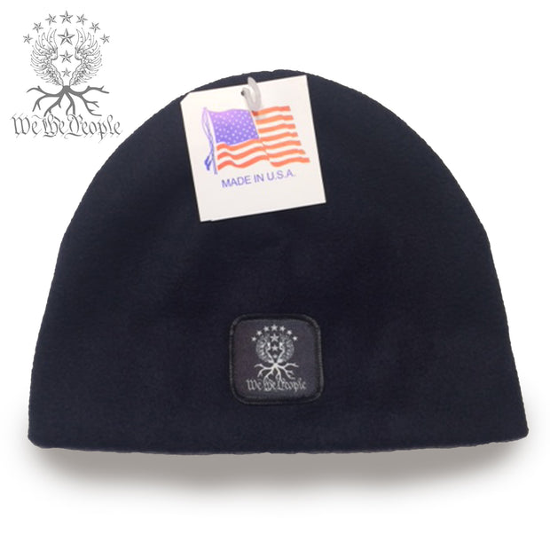 We the People Non-Cuff Beanie | Navy