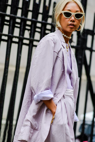 lilac soft pastel outfits will soften up the grey days that will be gloaming over us soon