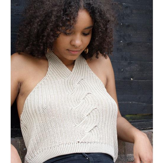 The Camilla Cable Cami - Knitted Cami - Route13