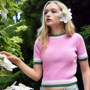 The Daisy Tee - Knitted T-Shirt - Route13